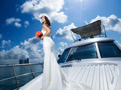 boat wedding to la maddalena