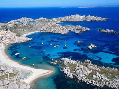 la maddalena and lavezzi are paradise of sardinia and corsica